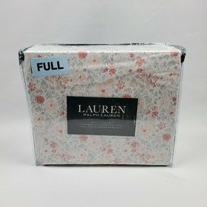 Lauren Ralph Lauren 4 PC Full Sheet Set Cottage